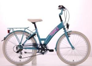 "Van Der Wal Bikefun Candyshop Girls 20"" 6SP Groen 2016"