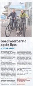 Er verscheen deze maand een artikeltje over de winkel in Rondom.