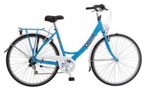 Een comfortabele Alu fiets met, een sterke pakdrager, stevig slot én vakkundig gemonteerd in onze werkplaats. Ook in herenmodel en verschillende kleuren.